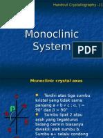 Ch 11 Systim Monoclinic
