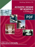 BB93- Acoustic Design