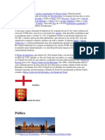 A Inglaterra é uma das nações constituintes do Reino Unido