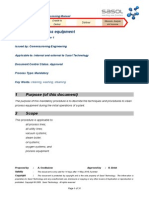 QMS360P Vol 4.5 Rev 1 Cleaning of Process Equipment