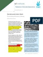 Cannabis Social Clubs in Spain