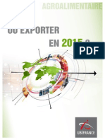 Agroalimentaire, Où Exporter en 2015