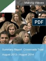 Crossroads Trust Annual Report 2013