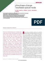 Understanding Phase Change Mechanism