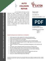 auto collision repair 15-16
