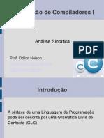 2 Compiladores1 Analise Sintatica