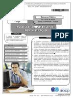 Instituto Aocp 2014 Ufpb Analista Administrativo Administracao Prova