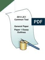 GP Essay Outlines