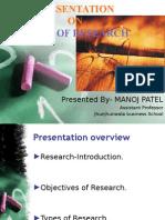 presentationontypesofresearch-140224012928-phpapp01