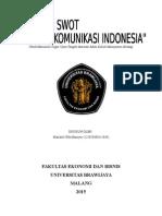 Uts_analisis Swot Perusahaan_mariatul Ulfa M_125020300111034