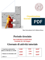 Contratto Formativo Tirocinio AA2014-15