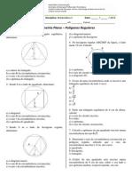 Lista_Geometria Plana – Polígonos Regulares_2015
