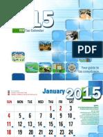 2015 Bir Tax Calendar