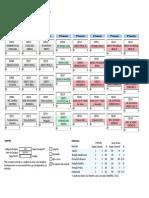 UEFS - Calendário