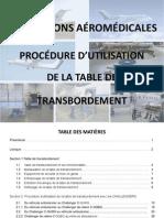 PRO_Utilisation Table de Transbordement 2015-04-08