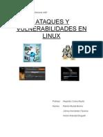Ataques y Vulnerabilidades en Linux