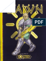 Exalted - Caste Book - Dawn