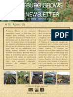 Fall 2014 FrostburgGrowsNewsletter