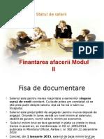 finantarea afacerii