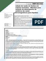 NBR 09104 - Medicao de Vazão de Fluidos Em Condutos Fechados
