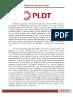 PLDT plant tour