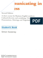 Communicating in Business - Student Book