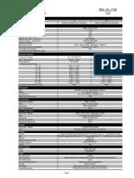 Tgx 28.440 6x2 - Dados Técnicos