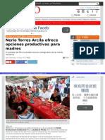 11-05-2015 Nerio Torres Arcila ofrece opciones productivas para madres