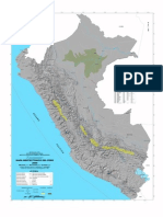 Mapa Neotecgrttónico Del Perú