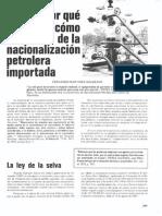 Desarrollo de la Industria de los Hidrocarburos en Venezuela
