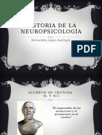 Historia de la neuropsicolog+¡a