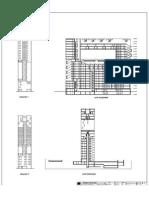 Cortes y Elevaciones Edificio madrid