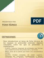 Guía de Mantenimiento - Ficha Tecnica