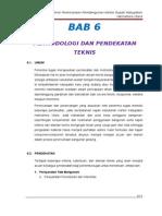 BAB 6- Metodologi Dan Pendekatan Teknis