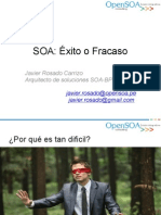 SOA Exito Fracaso