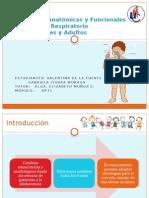 Diferencias Anatómicas del Torax entre un niño y un adulto