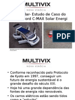 Carro Solar- Estudo de Caso Do Modelo Ford