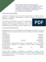 sISTEMUL  educatif in Franta