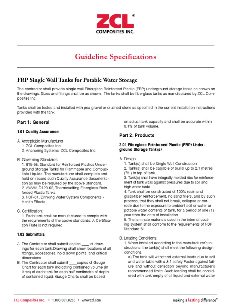 PotableWater-GuidelineSpecifications | Fiberglass (12 views)