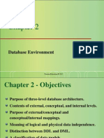 Chapter 2 - Database Environment
