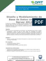 Diseño y Modelamiento de Base de Datos con SQL Server 2012