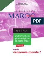 Prospective Maroc 2030 - Quelle Économie-monde