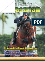 Central Florida Equestrian magazine February  2010- Annual Stallion & Breeder Issue