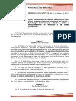 Lei Complementar 318 de 11 de Outubro de 2010