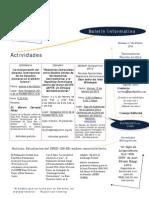 Boletin Informativo GRED-UNIBE (1-7 Febrero 2010)