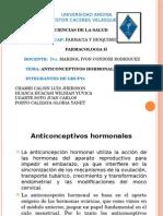 ANTICONCEPTIVOS HORMONALES