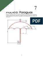paraguas cad