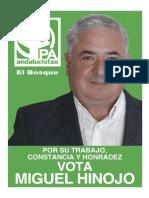 Programa electoral Andalucistas El Bosque 2015