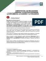 Lectura 4 - Los Instrumentos de Las Relaciones Internacionales