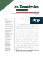 Renovar Ou Não o Acordo Com o Fmi - Ousadia Versus Prudência